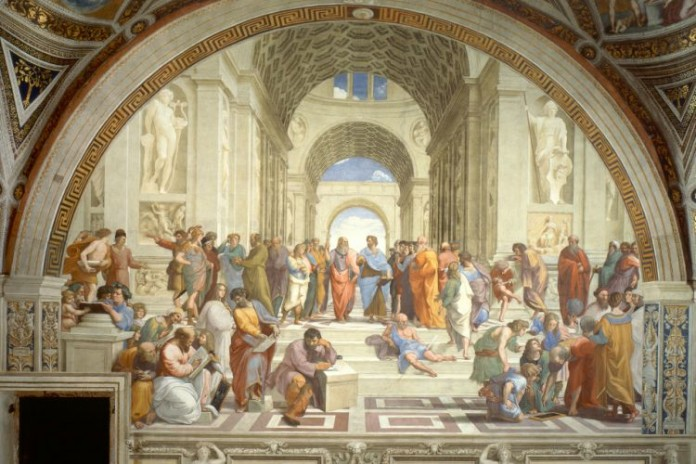 দি স্কুল অব অ্যাথেন্স: বিখ্যাত ছবি - কুইজার্ডস